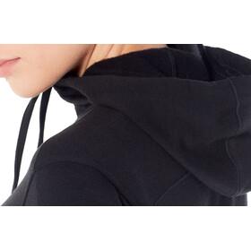 Icebreaker Dia LS Zip Hood Jacket Women Black